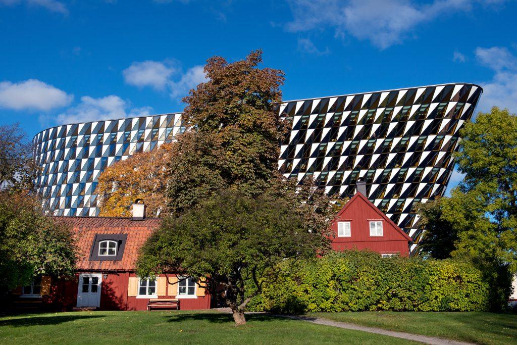 kampus karolinska institute oleh cecilia larsson lantz