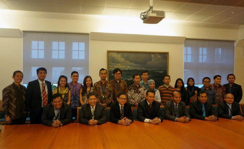 Foto bersama Pemerintah RI dengan perwakilan dari PPI Lund-Malmo