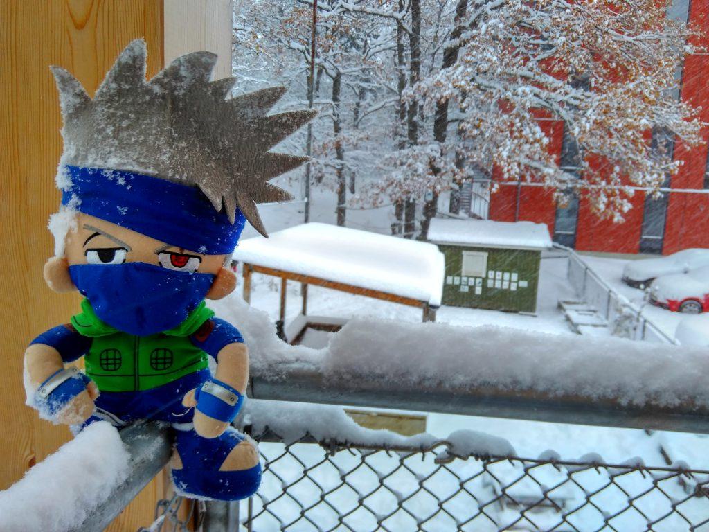 Pak guru Kakashi dan musim salju