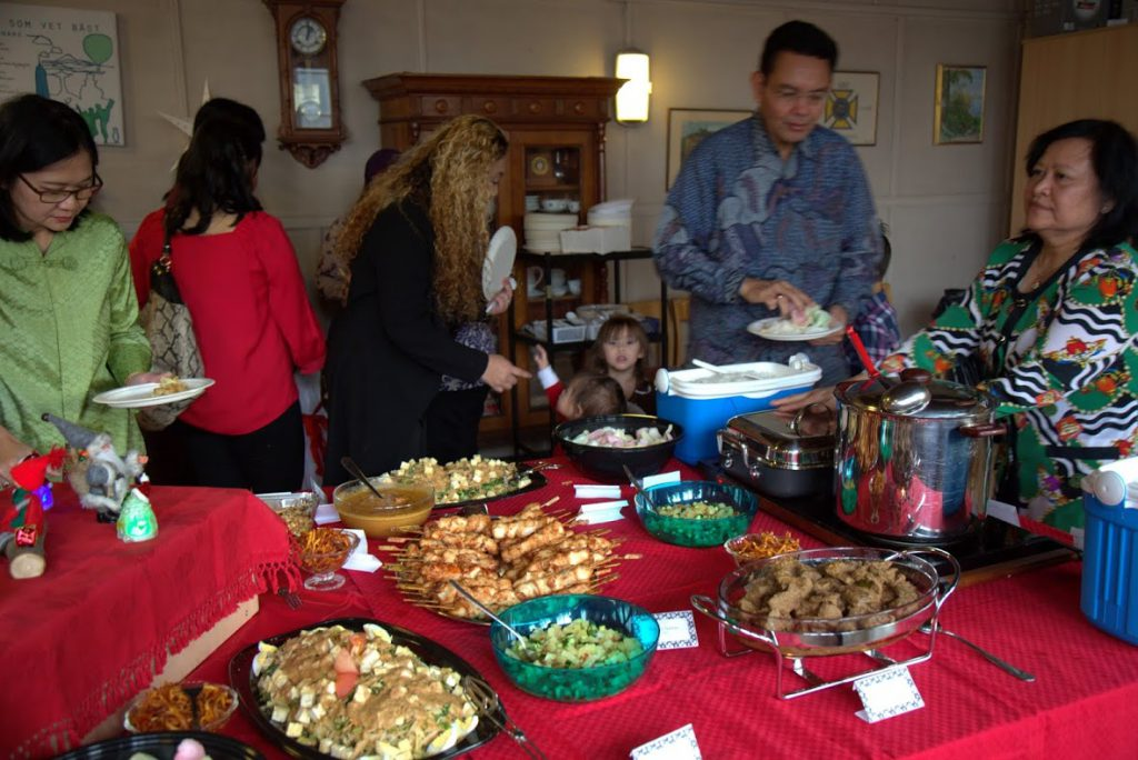 Makanan yang enak! Dokumentasi KBRI