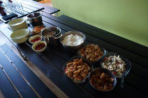 masakan hasil jerih payah kami :D