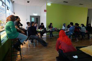 pembahasan rencana PPI Uppsala di masa depan