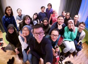 Para Mahasiswa Indonesia di Uppsala