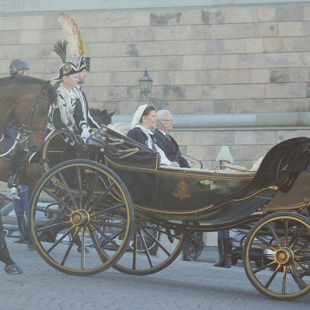 Raja dan Ratu Swedia