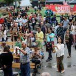 Meriahnya Kampung Indonesia di Stockholm