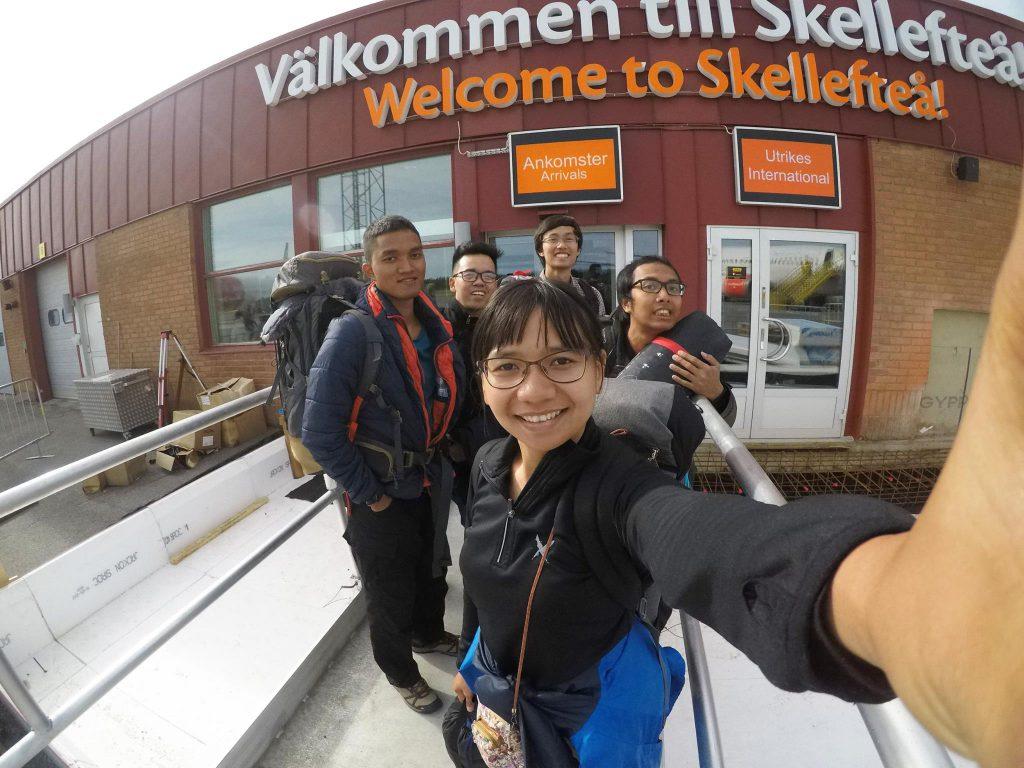 Tiba di Skellefteå. Oleh Ela Yudhanira