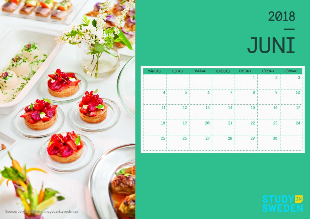 Kalender Juni