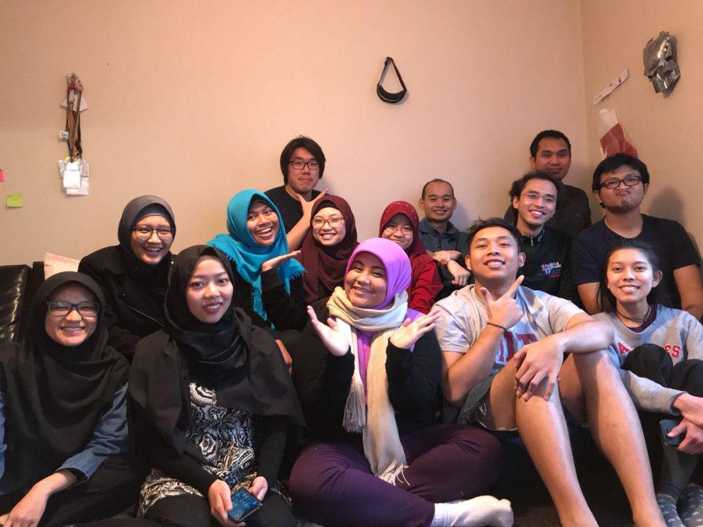 Setengah pelajar Indonesia di Uppsala