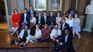 Sebagian dari teman-teman di program Master in Sustainable Development Uppsala University